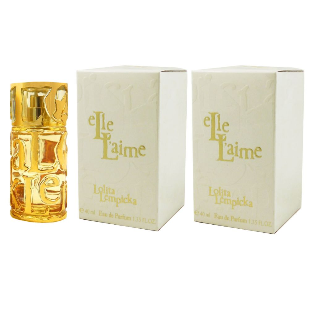 lolita lempicka elle l aime 2 x 40 ml eau de parfum edp set bei pillashop. Black Bedroom Furniture Sets. Home Design Ideas