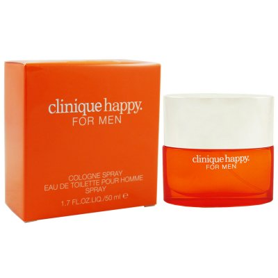 clinique happy for men 50 ml eau de toilette edt cologne. Black Bedroom Furniture Sets. Home Design Ideas