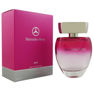 mercedes benz rose for women woman 90 ml eau de toilette. Black Bedroom Furniture Sets. Home Design Ideas