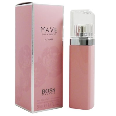 hugo boss ma vie pour femme florale 50 ml eau de parfum. Black Bedroom Furniture Sets. Home Design Ideas