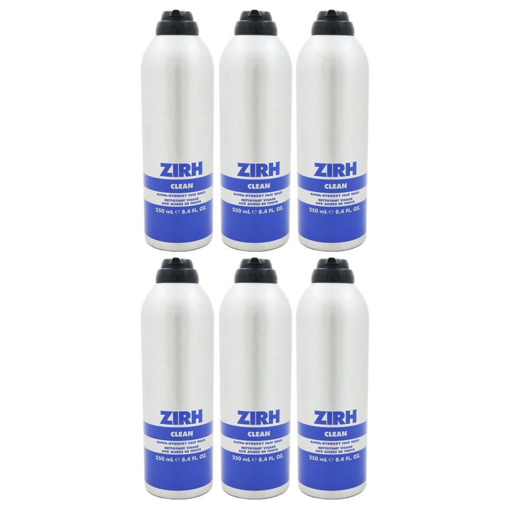 Zirh Clean Alpha Hydroxy 6x Face Wash 250 ml Re...