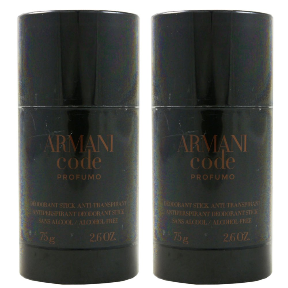Armani Code Profumo Pour Homme 2 x 75 ml Deo St...