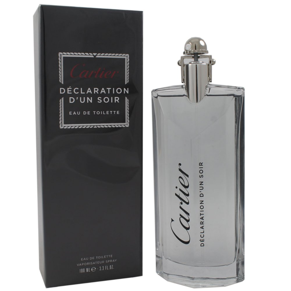 cartier declaration d un soir 100 ml eau de toilette edt bei pillashop. Black Bedroom Furniture Sets. Home Design Ideas