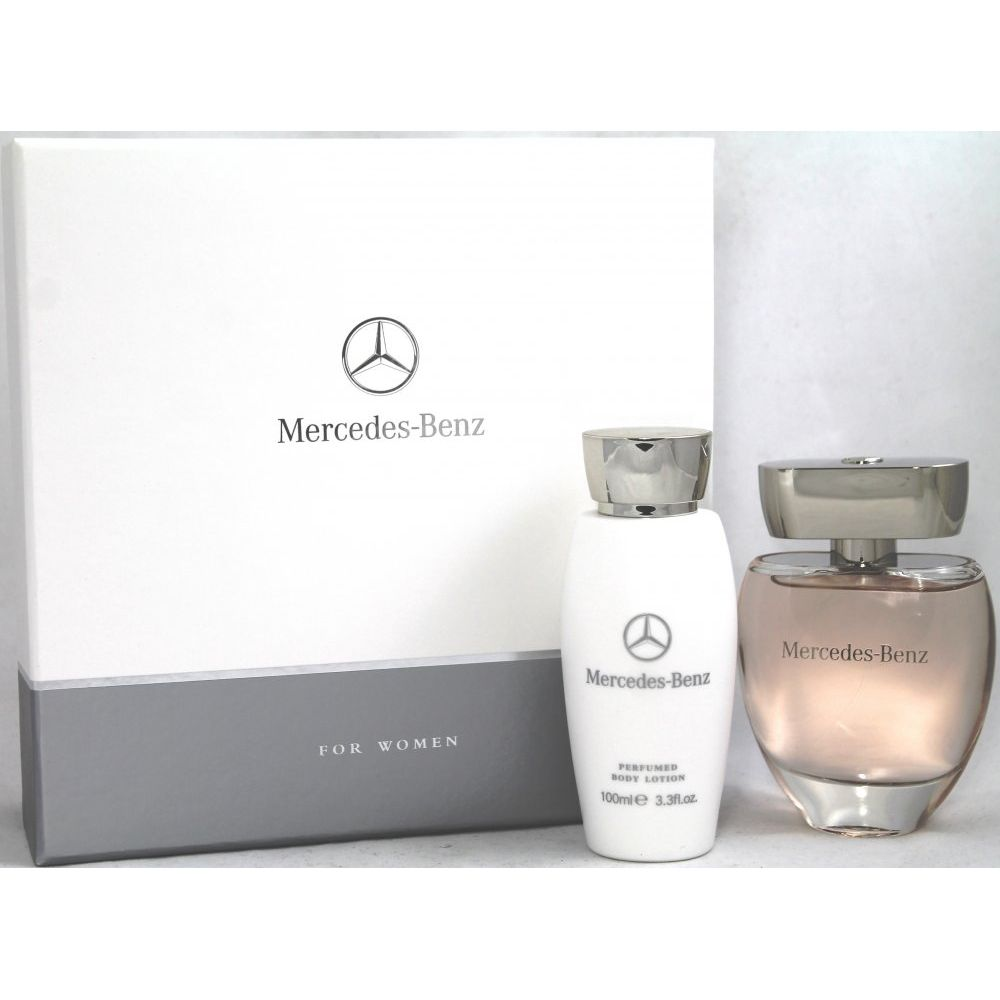 mercedes benz for woman eau de parfum 90ml k rperlotion. Black Bedroom Furniture Sets. Home Design Ideas