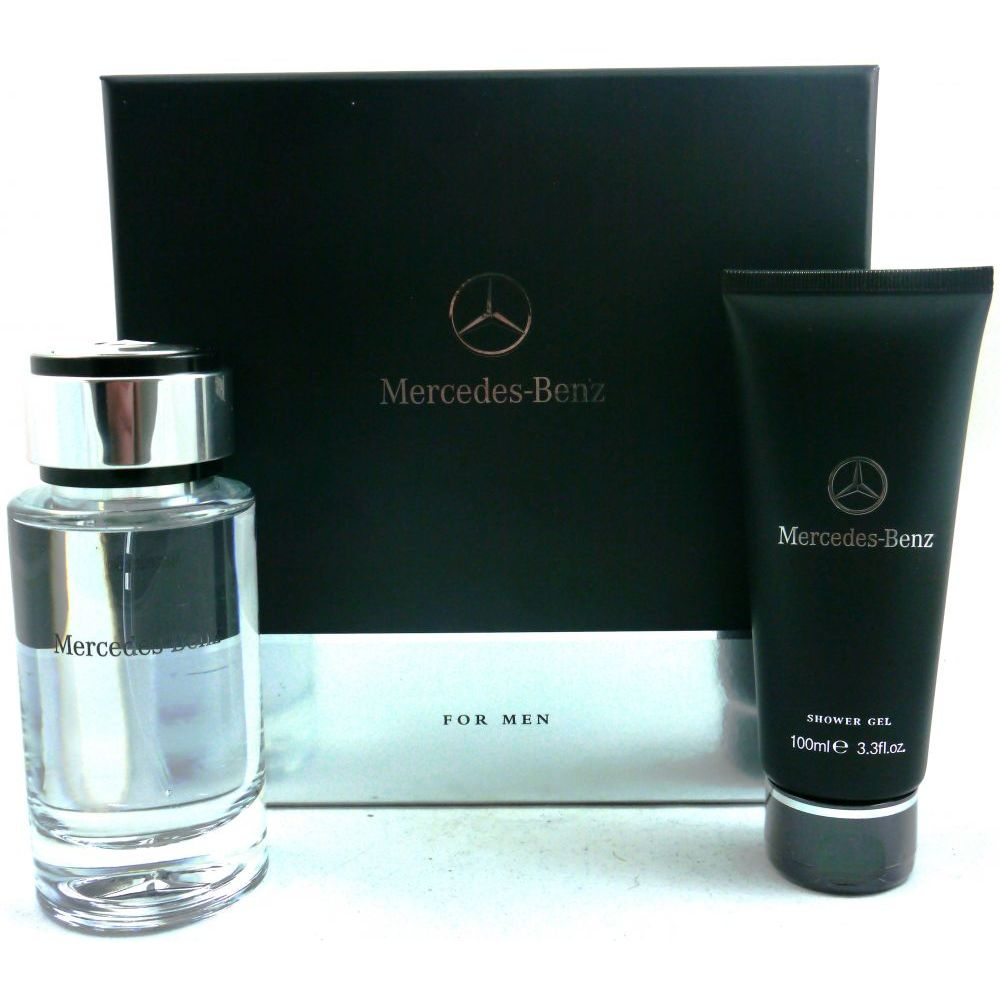 mercedes benz geschenkset eau de toilette 120ml duschgel. Black Bedroom Furniture Sets. Home Design Ideas