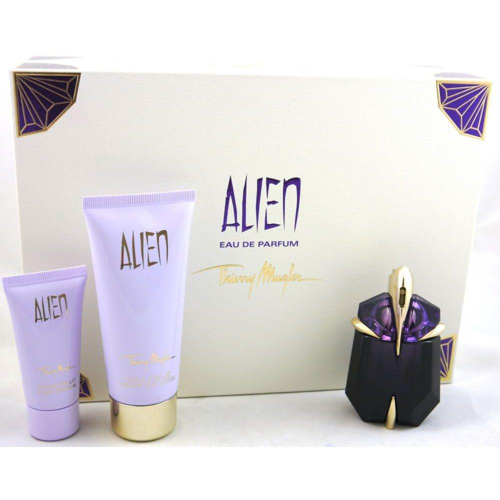 thierry mugler alien set 30 ml edp 100 ml bl 30 ml sg. Black Bedroom Furniture Sets. Home Design Ideas