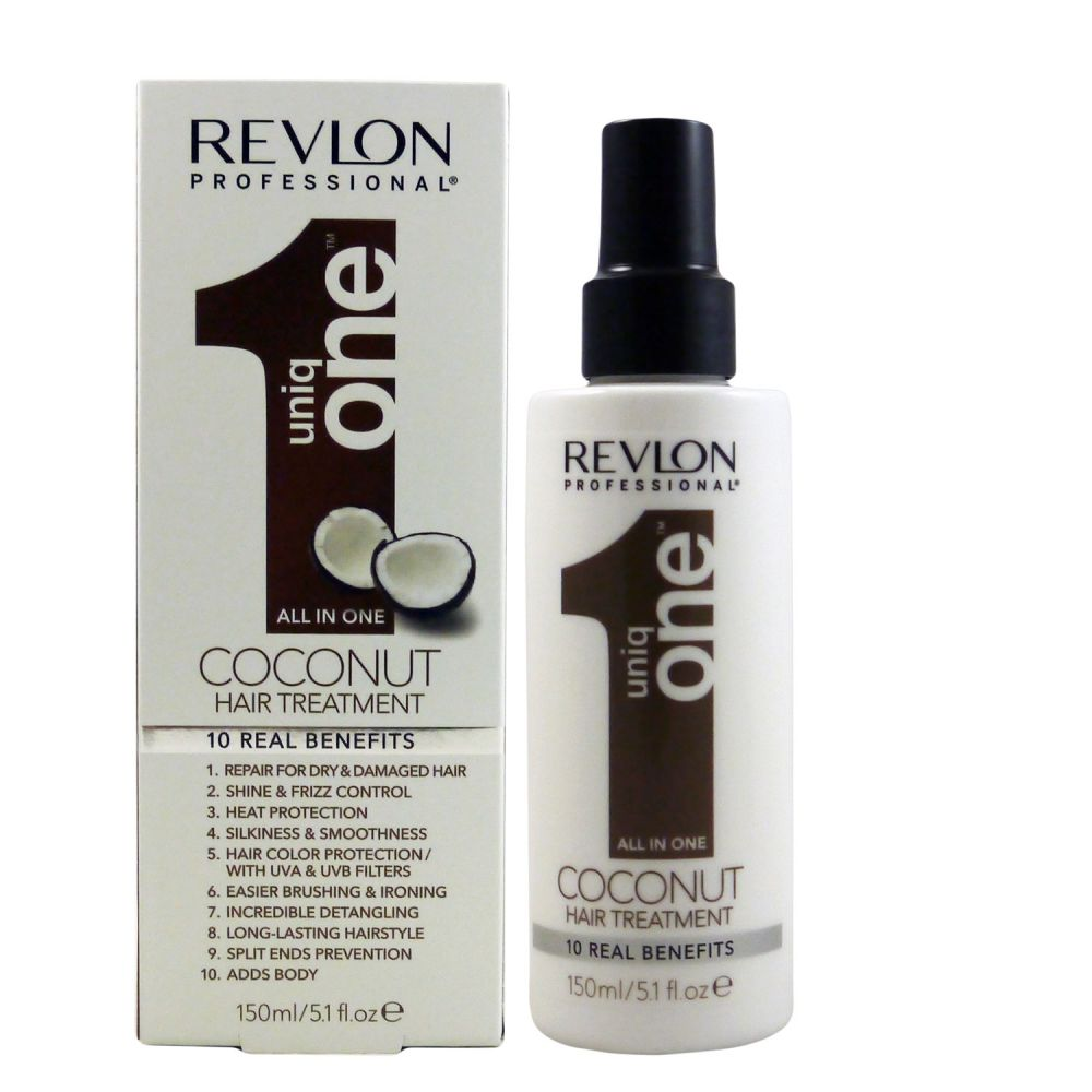 revlon uniq one coconut all in one hair treatment bei pillashop. Black Bedroom Furniture Sets. Home Design Ideas