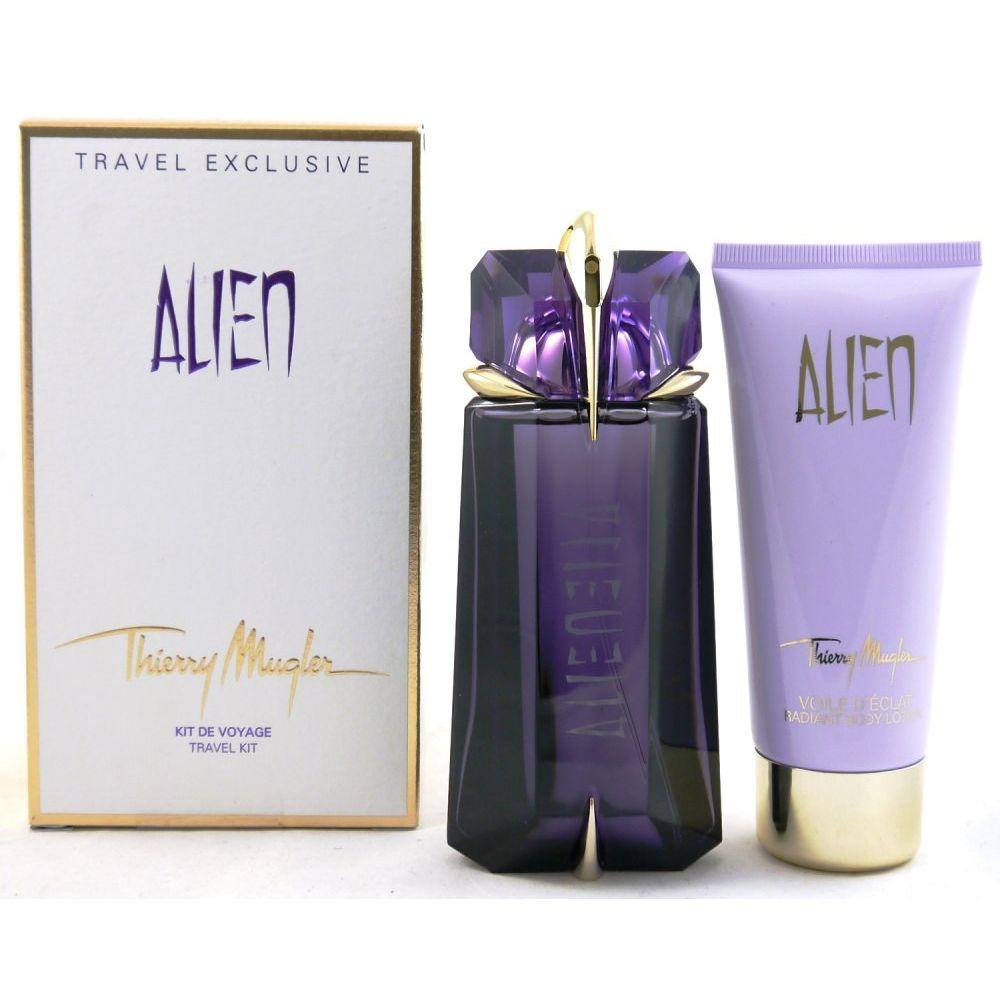 thierry mugler alien set 90 ml eau de parfum 100 ml bodylotion bei pillashop. Black Bedroom Furniture Sets. Home Design Ideas