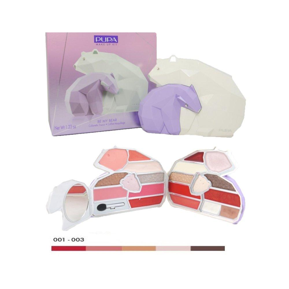 pupa be my bear make up kit schatulle lila medium bei pillashop. Black Bedroom Furniture Sets. Home Design Ideas