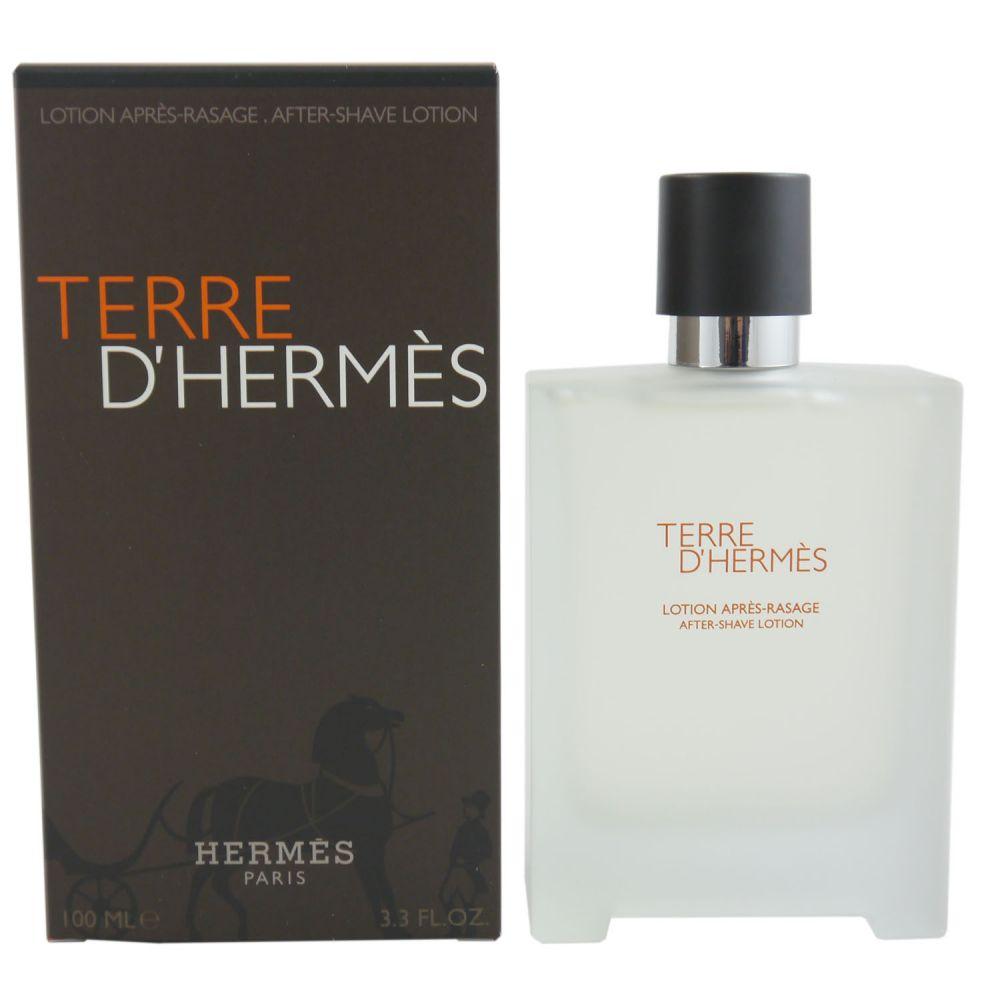hermes terre d hermes 100 ml aftershave lotion after shave. Black Bedroom Furniture Sets. Home Design Ideas