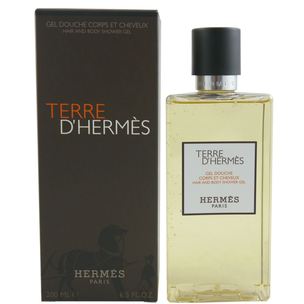 hermes terre d hermes 200 ml duschgel shower gel bei pillashop. Black Bedroom Furniture Sets. Home Design Ideas