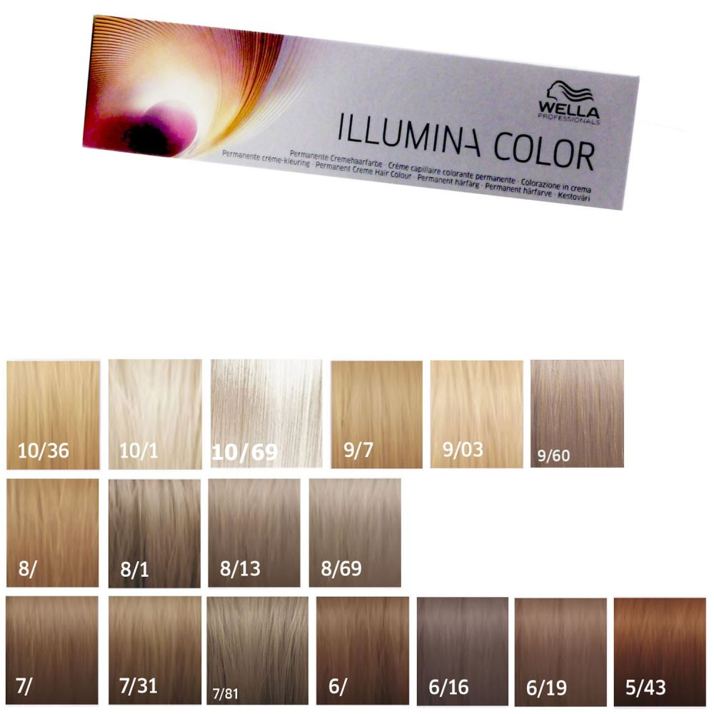 Wella illumina color 60 ml freie farbwahl bei pillashop - Bano de color wella ...